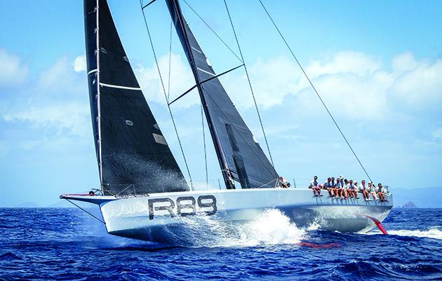 Гоночная яхта Rambler 88