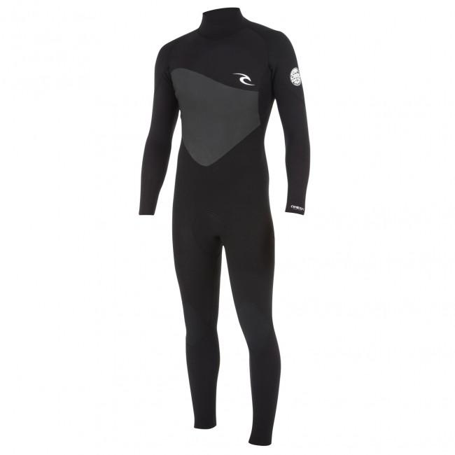 Rip Curl Mens Omega 3/2mm Flatlock Back Zip Wetsuit