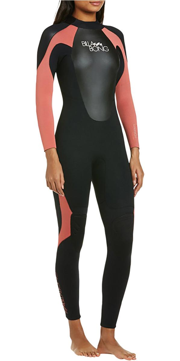 Billabong Womens Launch 3/2mm GBS Back Zip Wetsuit