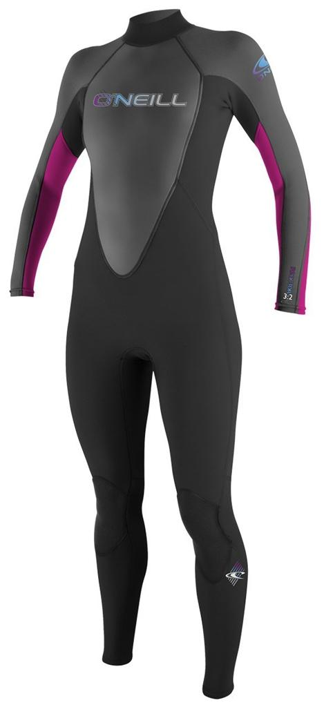 O'Neill Women's Reactor 3/2mm Full Surfing Wetsuit