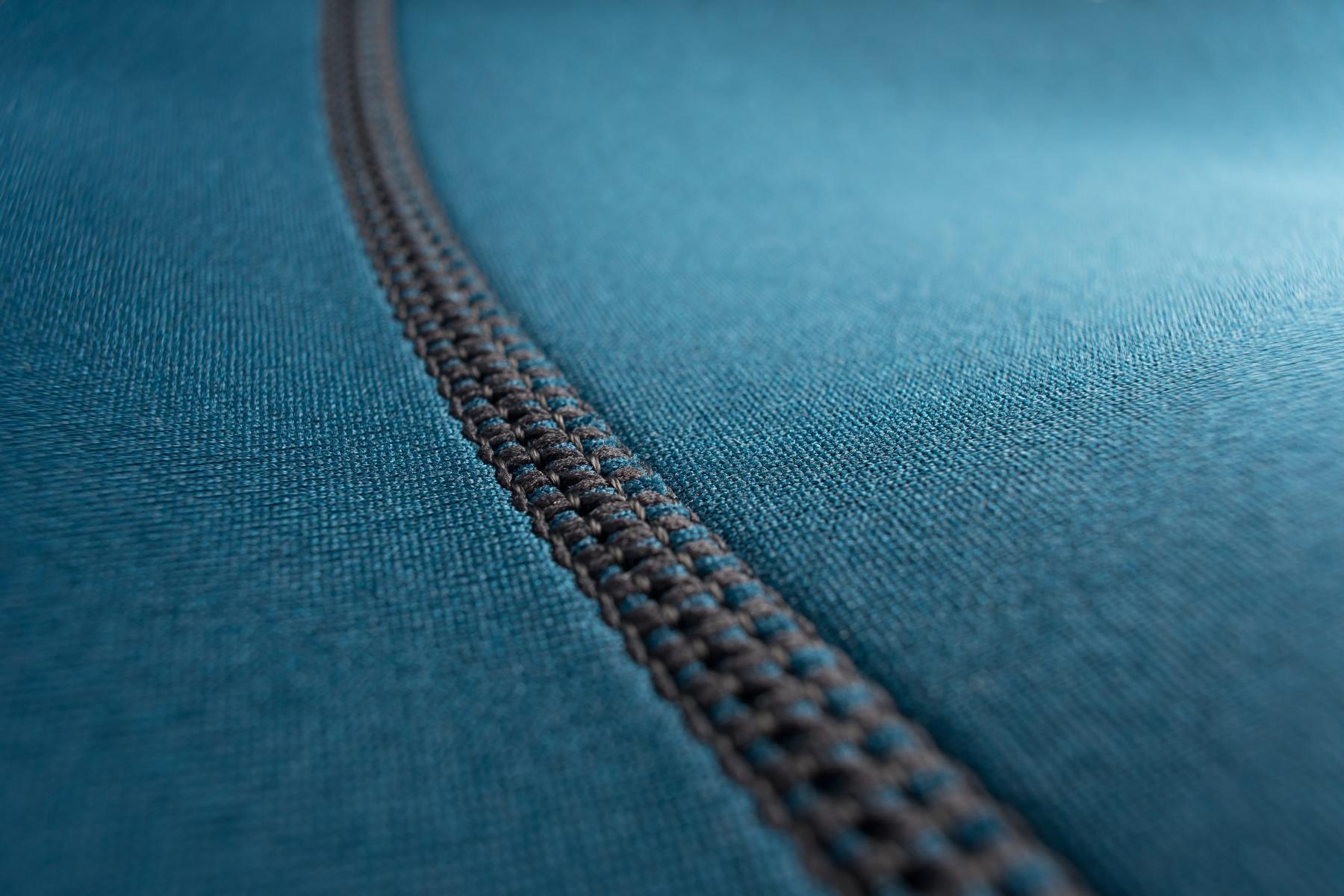 Flatlock stitching