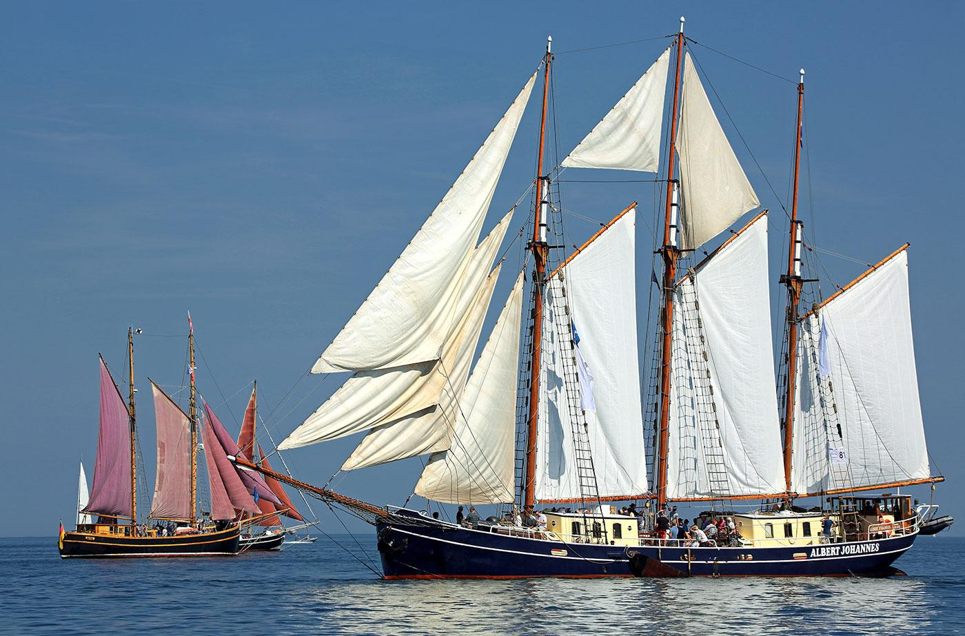 Dutch old-fashioned schooner