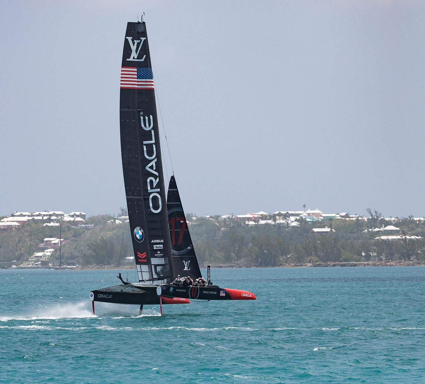 AC50 catamaran