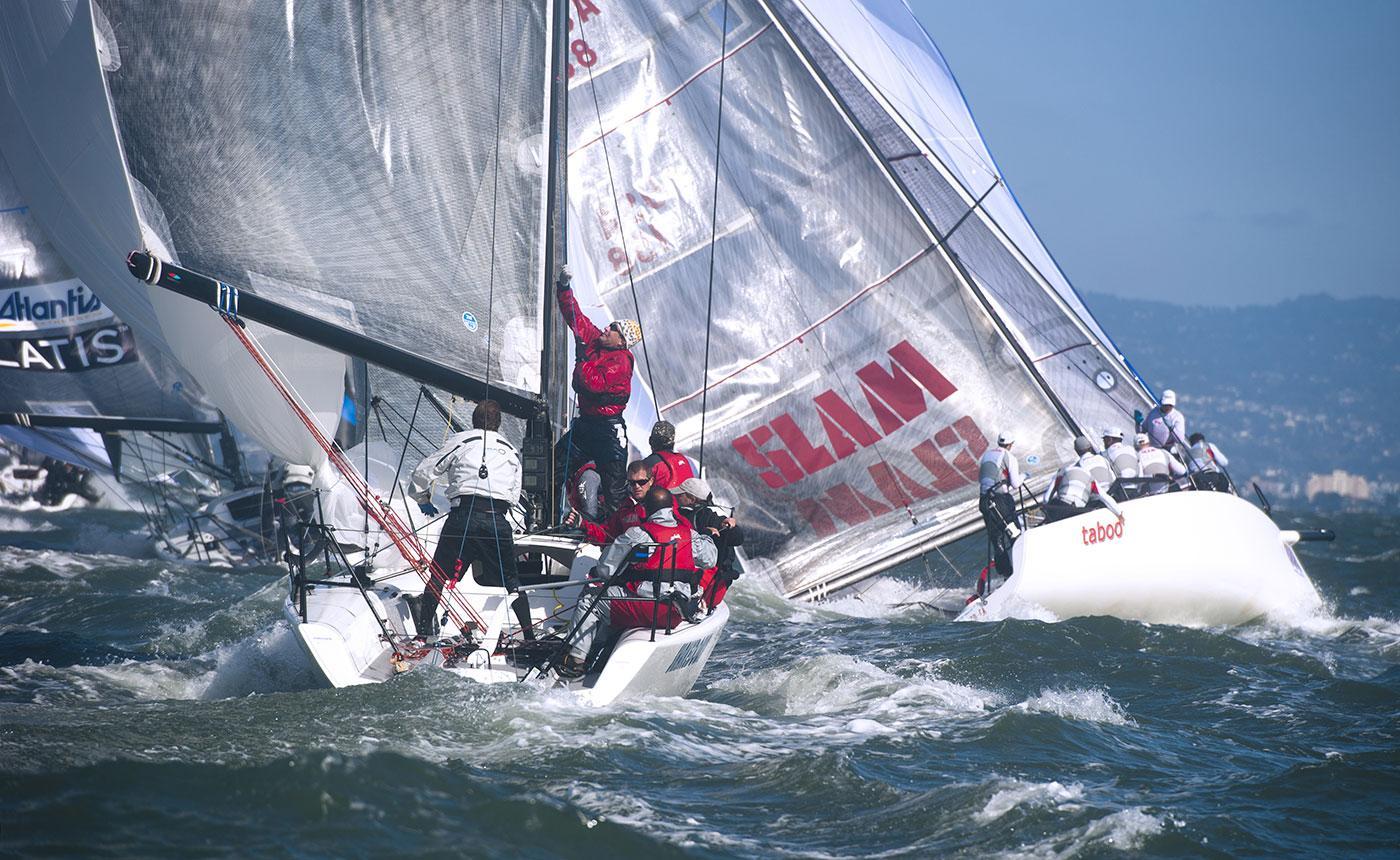 Гоночная яхта Melges 32