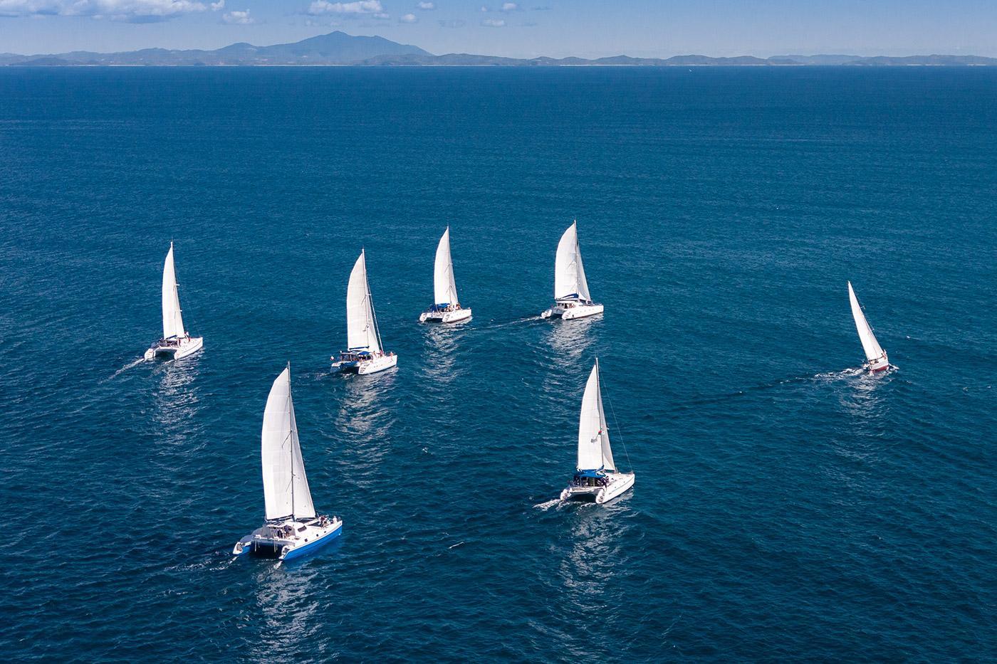 Sailing flotilla