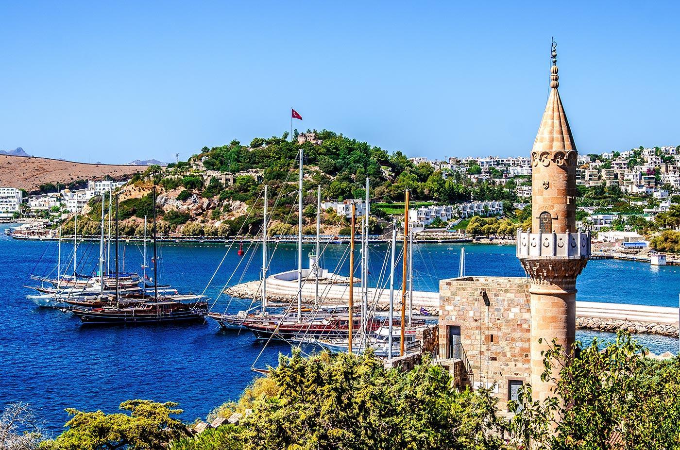 Sailing in Turkey