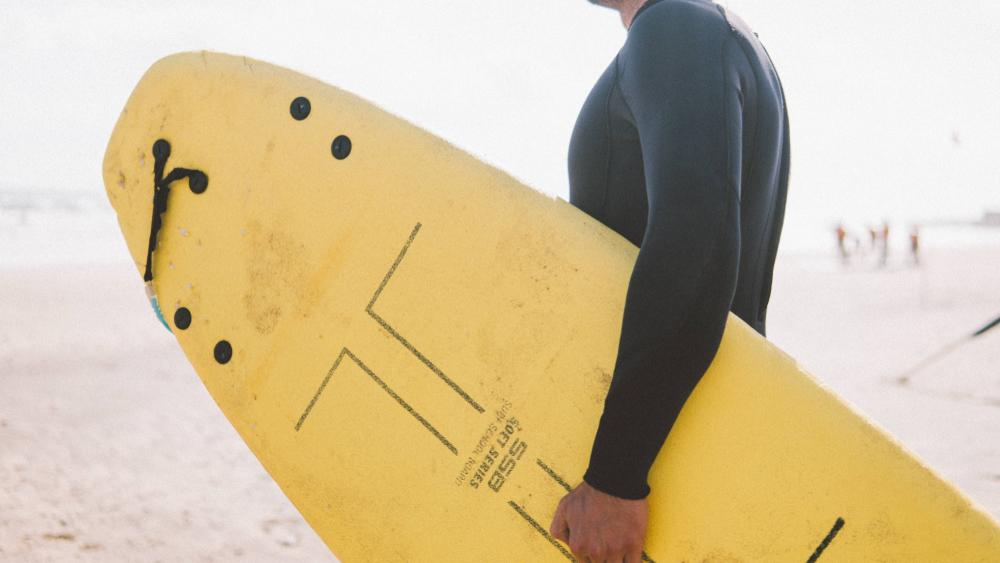 Man in a wetsuit