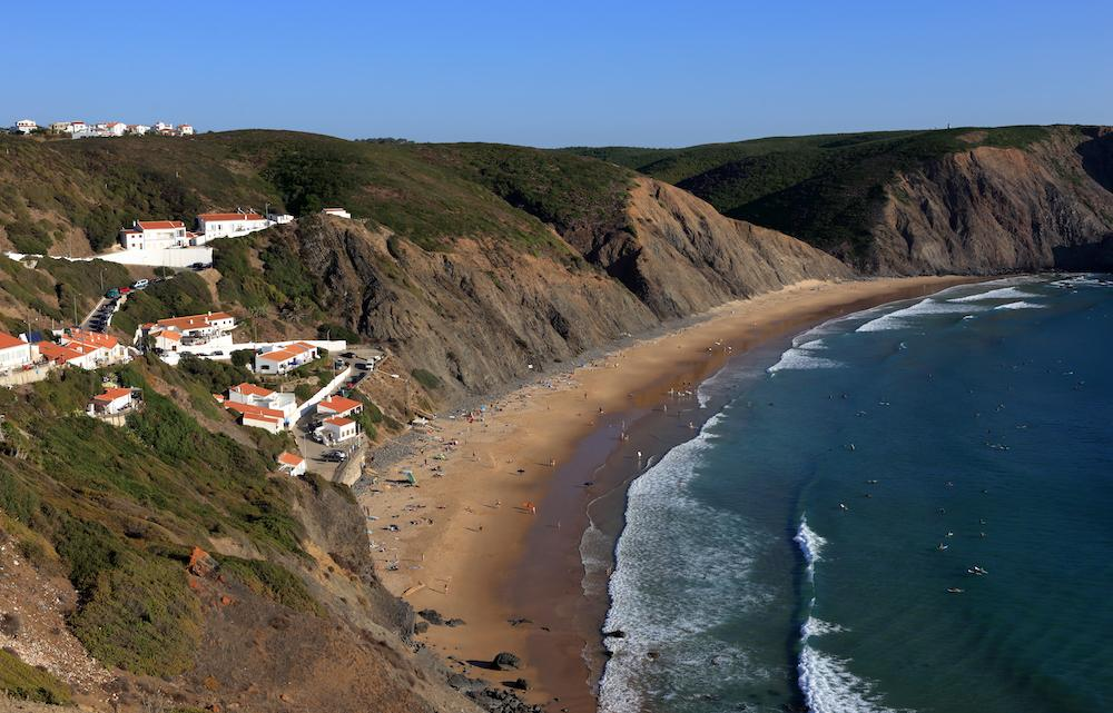 Arrifana, South Algarve, Portugal surf spot