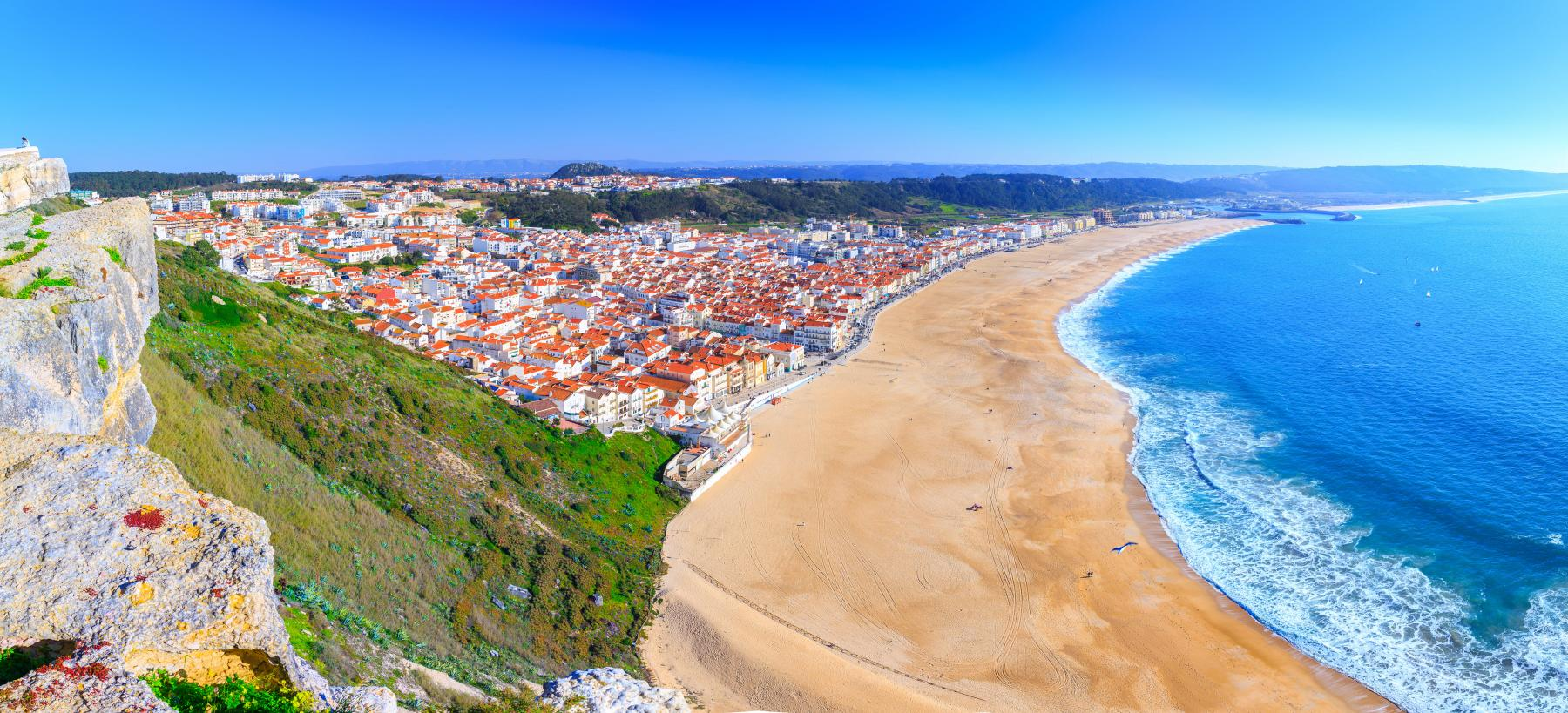 Most famous beach - Nazare