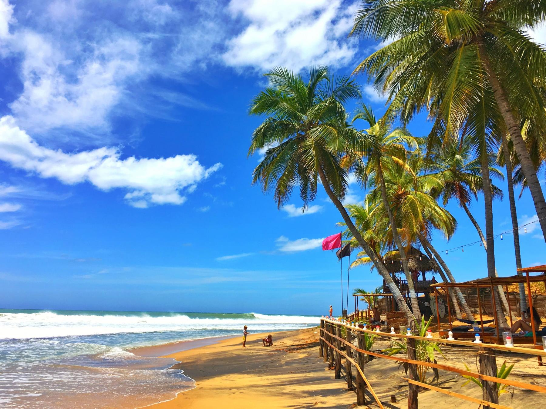 Okanda beach