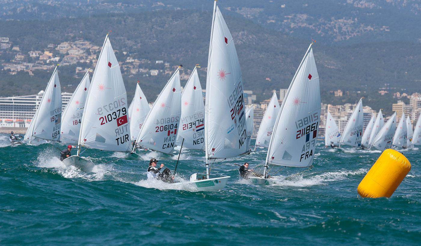 Olympic sailing competitons