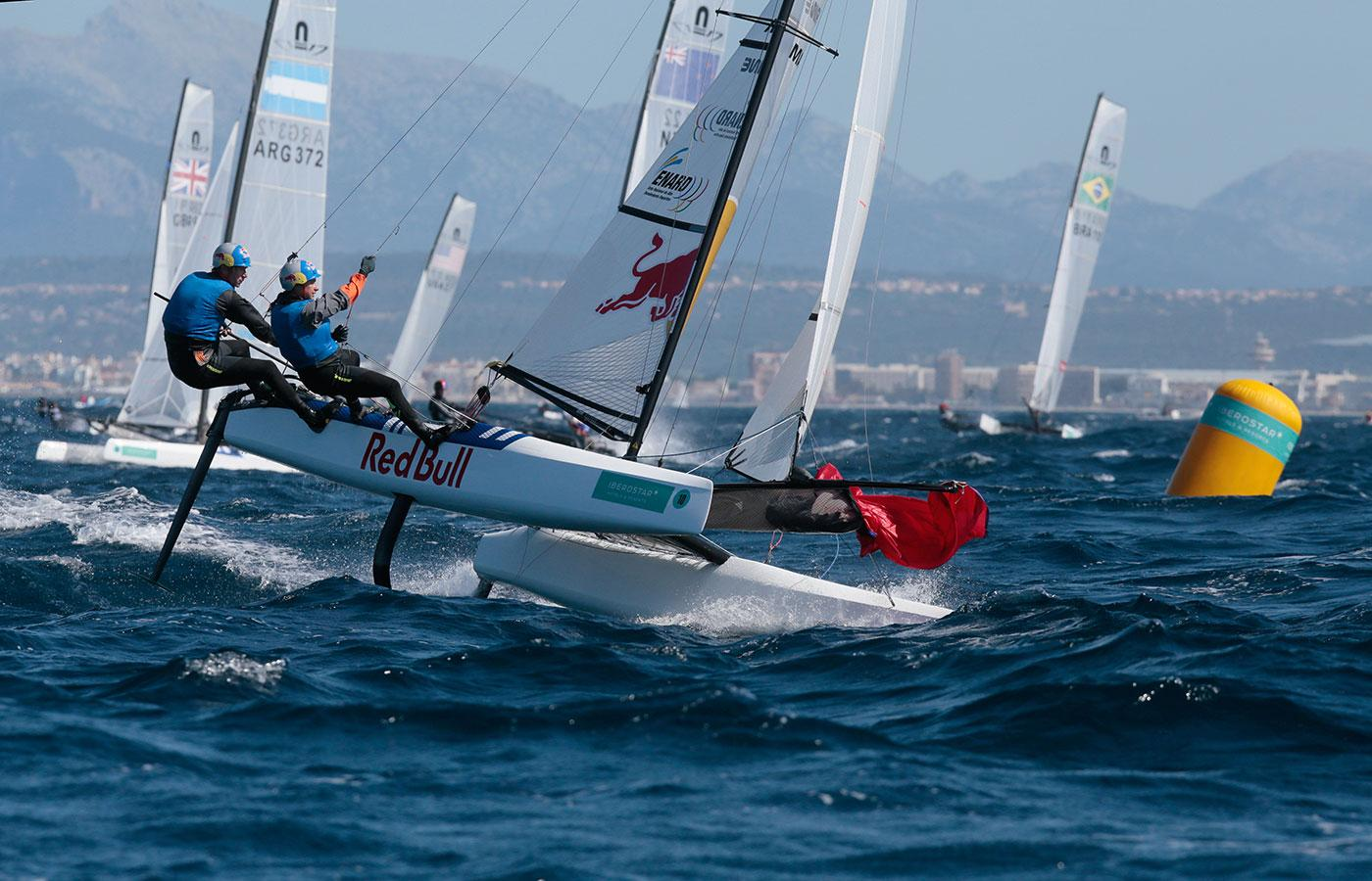 Nacra 17 is Olympic sailing catamaran
