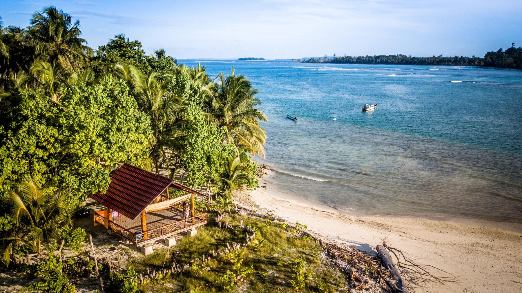 Sunny Mentawai island