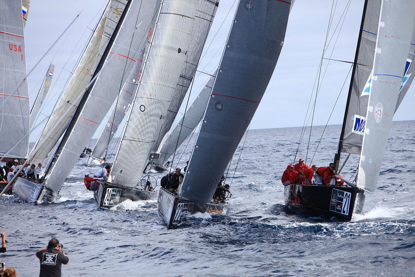 RC44 class fleet races