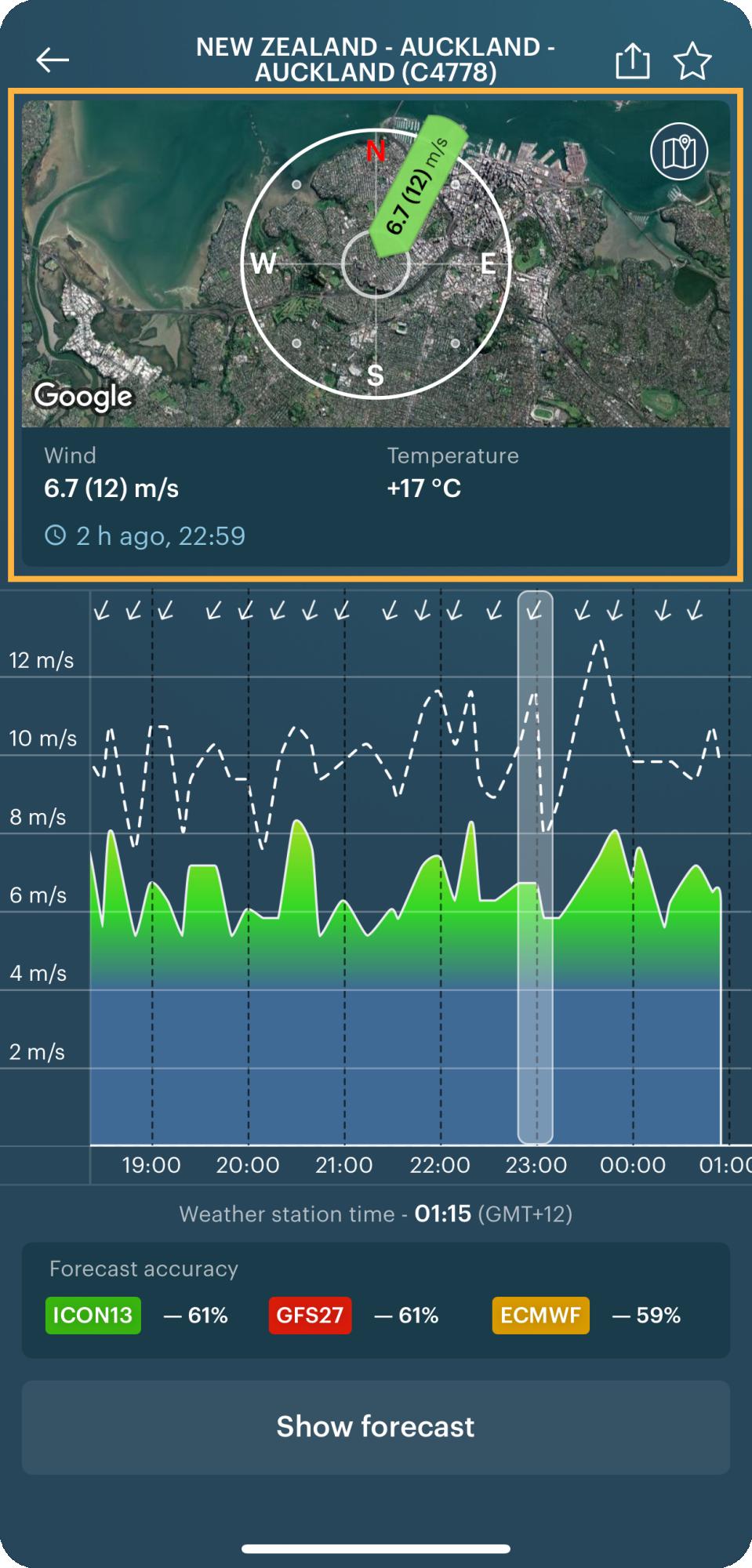 wind-rose-widget-Auckland-new-zealand-windyapp-ios