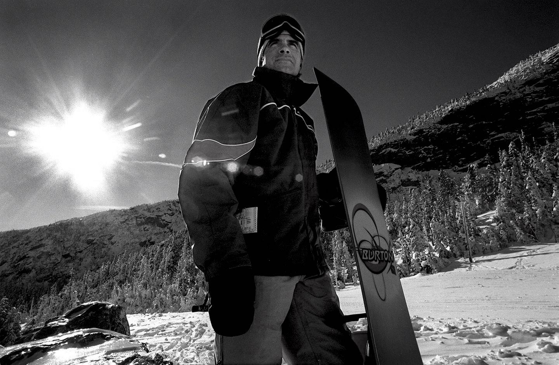 Jake Burton Snowboarding