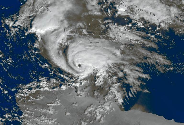 Tropical-like Mediterranean Storm