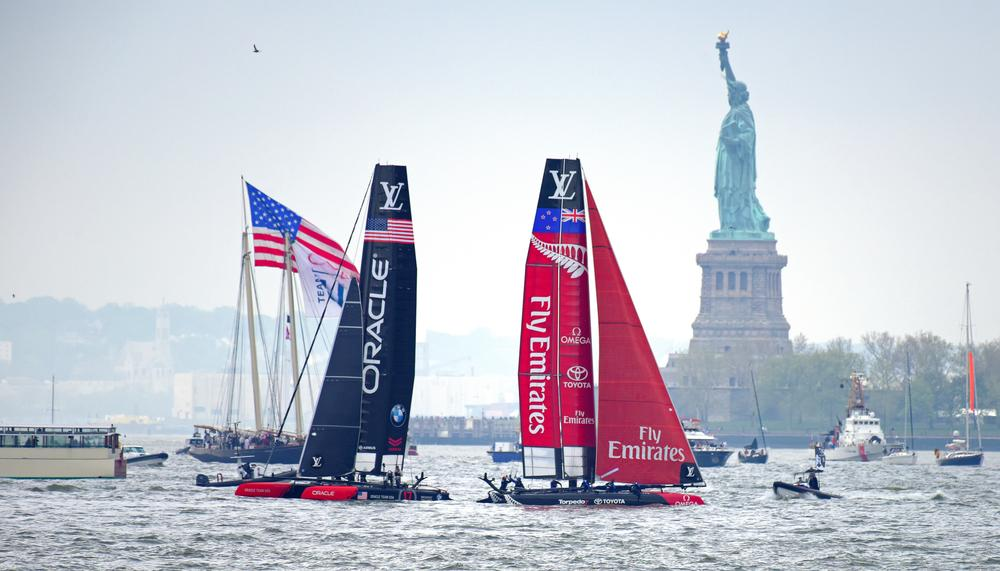 The America's Cup World Series in New York City