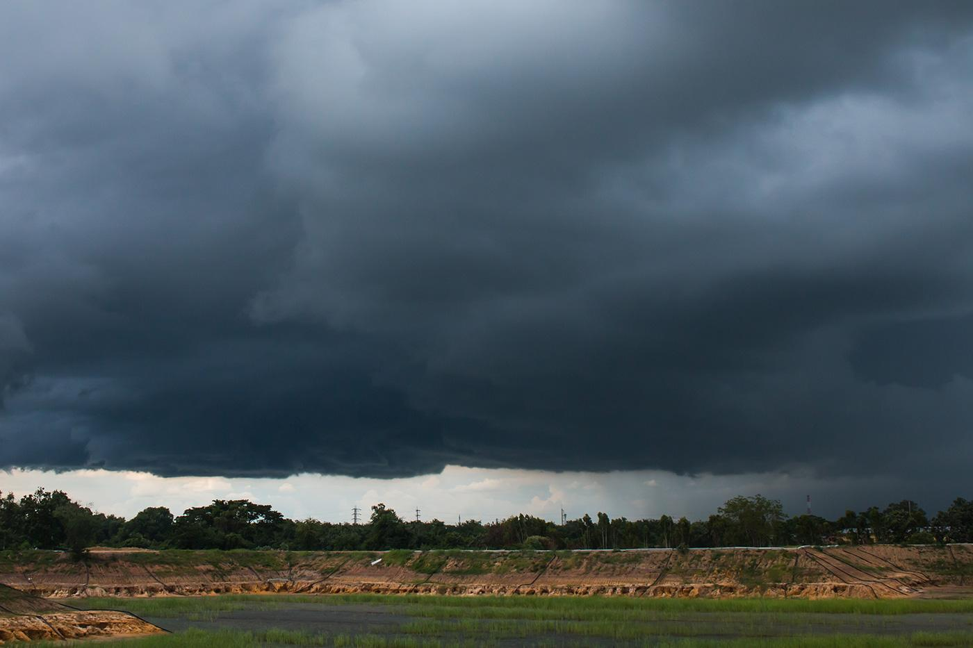 Nimbo-stratur clouds
