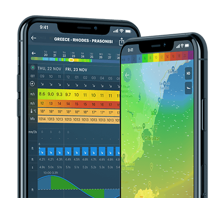 Windy app – Live wind map & weather forecast