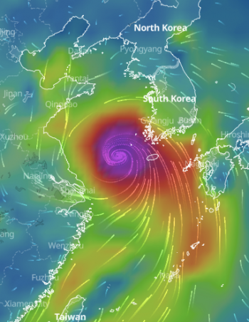 Major Category 3 Typhoon Bavi 2020 Finally Left Asia, No Longer Dangerous