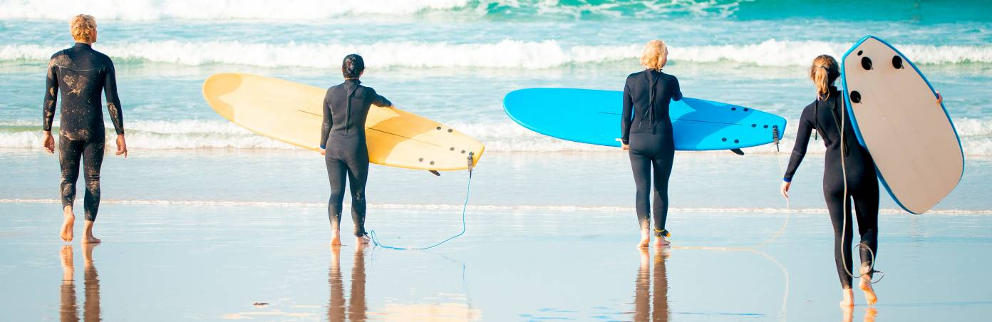 How to choose a surf school? Guide on surf schools for beginners, intermediate and PRO
