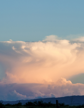 How anvil clouds form: simple explanation
